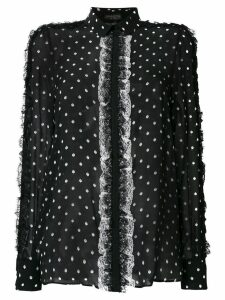 Giambattista Valli polka dot blouse - Black