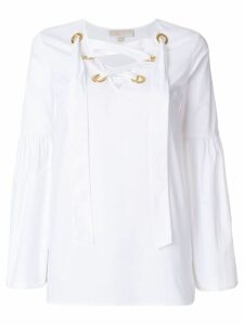 Michael Michael Kors tie-neck blouse - White