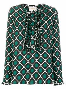 La Doublej tuxedo shirt - Green