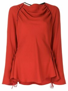 Marni gathered blouse