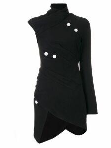 Proenza Schouler asymmetric button-embellished top - Black