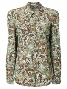 Chloé retro patterned shirt - Brown