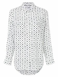 Equipment moon and star patterned shirt - White