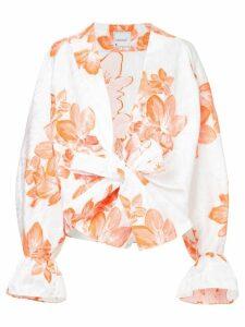 Bambah floral kimono shirt - White