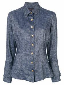 Talbot Runhof buttoned shirt - Blue