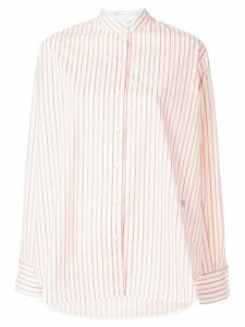Victoria Beckham striped shirt - White