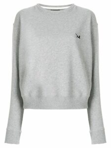 Calvin Klein 205W39nyc embroidered logo sweatshirt - Grey