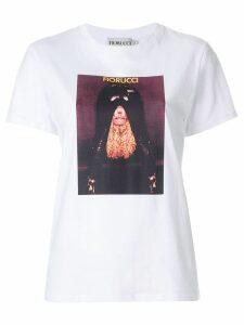 Fiorucci Girl print T-shirt - WHITE