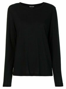 Tom Ford long-sleeved T-shirt - Black