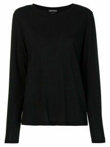 Tom Ford long-sleeved T-shirt - Black