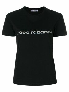 Paco Rabanne logo T-shirt - Black