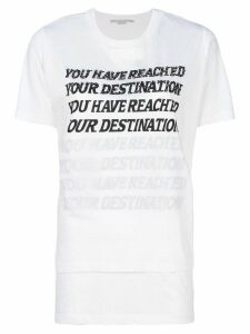 Stella McCartney You Have Reached Your Destination T-shirt - White