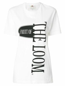 Cédric Charlier fruit of the loom T-shirt - White