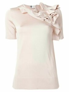 LANVIN ruffled top - PINK