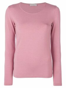 Le Tricot Perugia long sleeved T-shirt - PINK