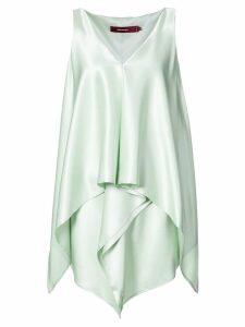 Sies Marjan V-neck drape tunic - Green