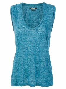 Isabel Marant Maik tank top - Blue