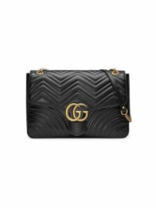 Gucci GG Marmont large shoulder bag - Black