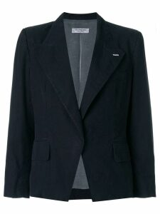 Yves Saint Laurent Pre-Owned fitted blazer - Black
