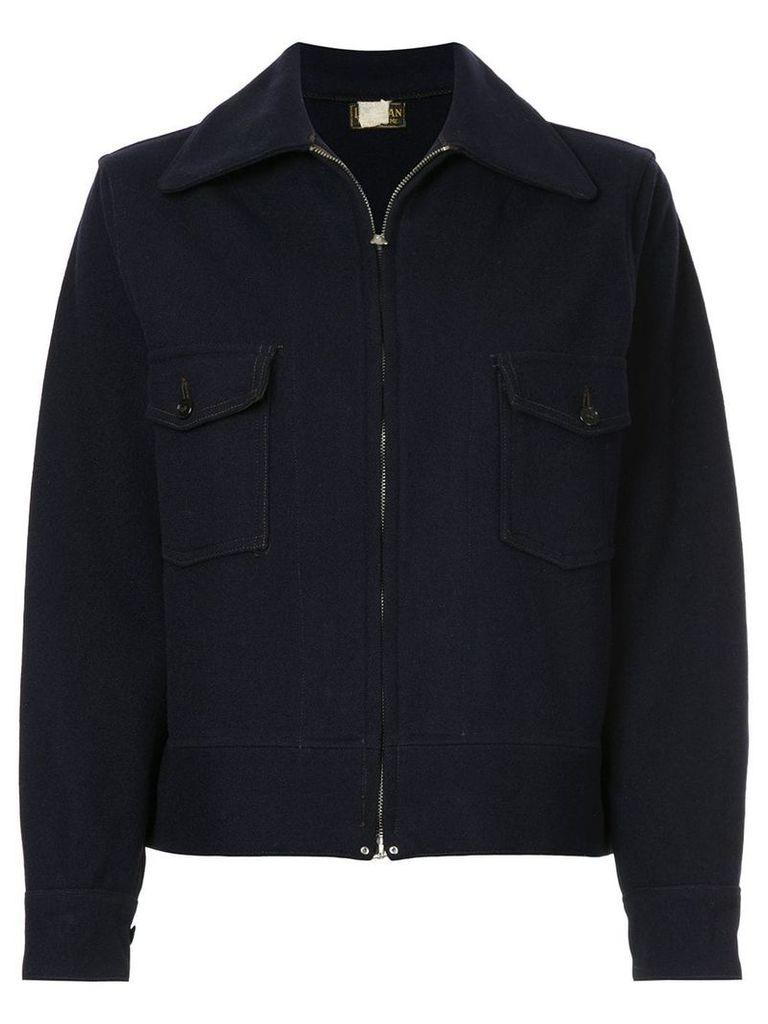 Fake Alpha Vintage 1930s L.L. Bean collared jacket - Blue