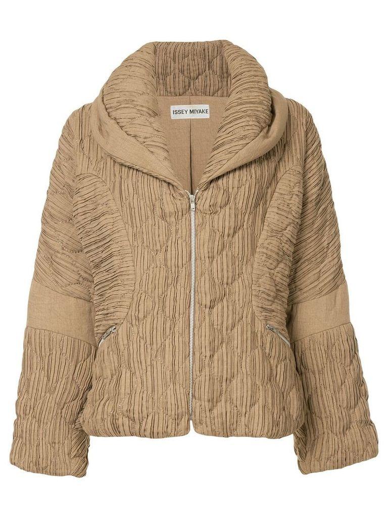 Issey Miyake Vintage puffer jacket - Brown