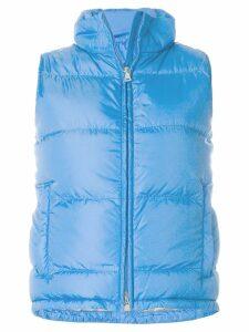 Prada Pre-Owned sleeveless zipped vest - Blue