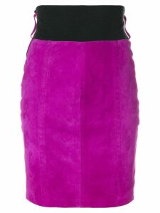 Gianfranco Ferré Pre-Owned fitted short skirt - PINK