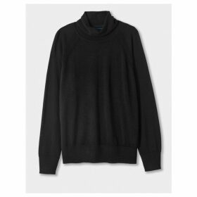 Winser London Merino Roll Neck Jumper
