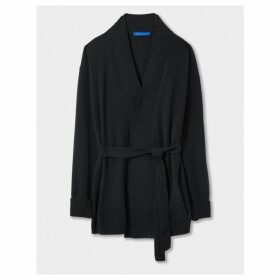 Winser London Cashmere Belted Cardigan