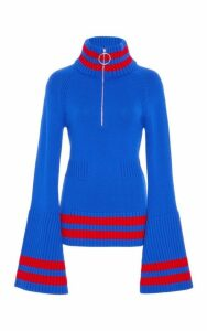 Jamie Wei Huang Cashmere Bell Sleeve Top