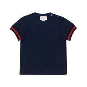 Gucci Short Sleeve Cotton T Shirt