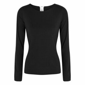 Wolford Pure Black Jersey Top