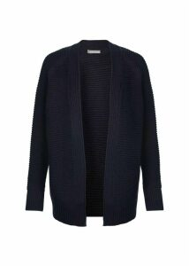 Louisa Cotton Cashmere Cardigan Navy