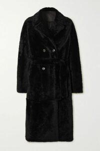 Balenciaga - Apron Open-back Printed Silk-satin Jacquard Dress - Green