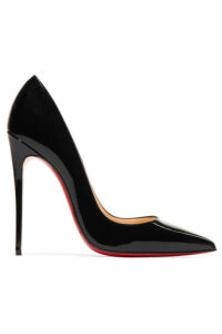 Christian Louboutin - So Kate 120 Patent-leather Pumps - Black