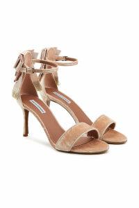 Tabitha Simmons Frances Velvet Sandals
