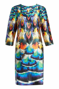 Mary Katrantzou Printed Silk Dress