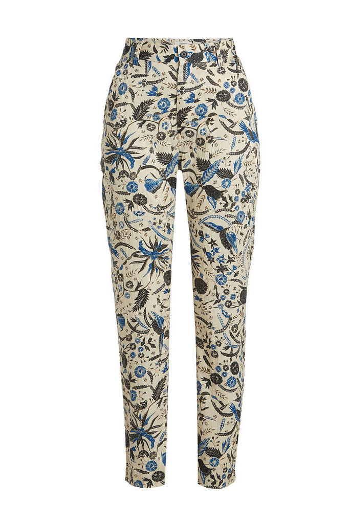 Isabel Marant toile Cameron Printed Cotton Pants
