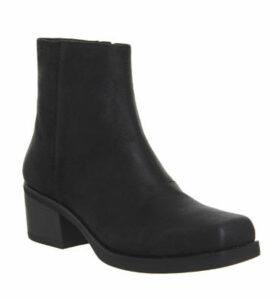 Vagabond Ariana Boot BLACK WAXED SUEDE
