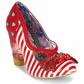 Irregular Choice  WANDERLUST  women's Court Shoes in Red