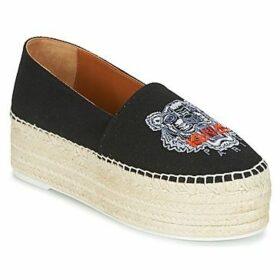 Kenzo  PLATFORM TIGER ESPADRILLES  women's Espadrilles / Casual Shoes in Black