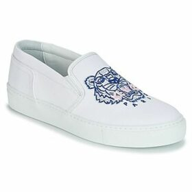 Kenzo  K SKATE SNEAKERS  women's Slip-ons (Shoes) in White