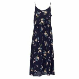 Moony Mood  ISKI  women's Long Dress in Blue