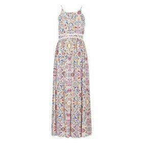 Naf Naf  LIBOLLY R2  women's Long Dress in Multicolour