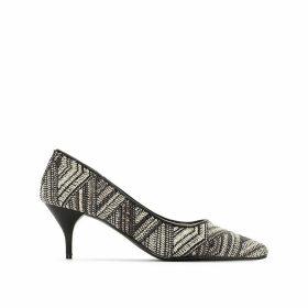 Tribal Print Heels
