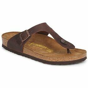 Birkenstock  GIZEH PREMIUM  women's Flip flops / Sandals (Shoes) in Brown