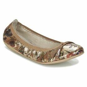 Les Petites Bombes  ELLA  women's Shoes (Pumps / Ballerinas) in Gold