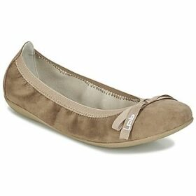 Les Petites Bombes  ELLA VELOUR  women's Shoes (Pumps / Ballerinas) in Beige