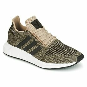 adidas  SWIFT RUN  women's Shoes (Trainers) in Gold