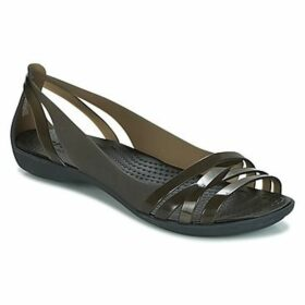 Crocs  ISABELLA HUARACHE 2 FLAT W  women's Sandals in Black